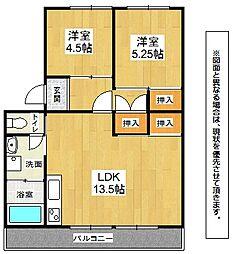 第2ACビル[3階]の間取り
