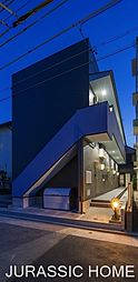 大阪府堺市堺区香ヶ丘町3丁の賃貸アパートの外観