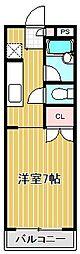 パークセレノ[1階]の間取り