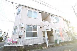 神奈川県大和市上草柳2の賃貸アパートの外観