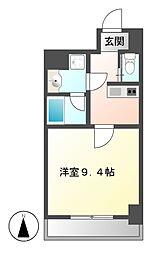 アマーレ東海通[4階]の間取り
