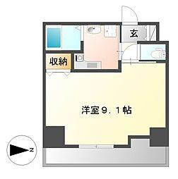 HF久屋大通レジデンス[11階]の間取り