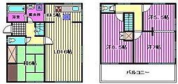 [一戸建] 埼玉県蓮田市綾瀬 の賃貸【/】の間取り