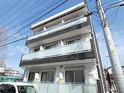 千葉県松戸市常盤平2の賃貸アパートの外観