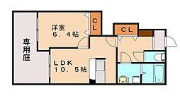 ドルチェ赤坂[1階]の間取り