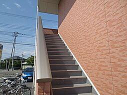 山梨県甲府市大里町の賃貸アパートの外観