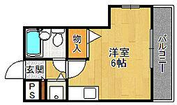 RIO花屋敷[305号室]の間取り