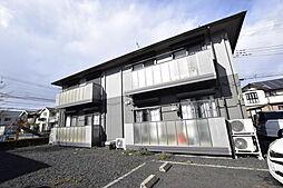 ソレジオタウン西川田D[2階]の外観
