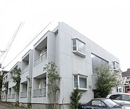 千葉県松戸市竹ケ花の賃貸アパートの外観