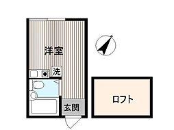 エムコーポ[1階]の間取り