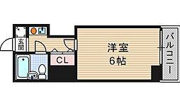 ライズ芦原橋[1階]の間取り