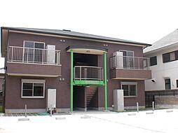 愛知県名古屋市緑区篠の風3丁目の賃貸アパートの外観