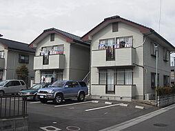 茨城県水戸市見川2丁目の賃貸アパートの外観