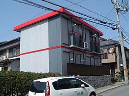 霞ハイム[2階]の外観