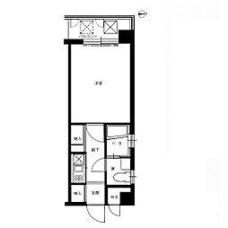 エステートモア室見[4階]の間取り