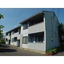 茨城県つくば市稲荷前の賃貸アパートの外観