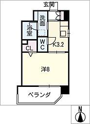 Mio・Reve[7階]の間取り