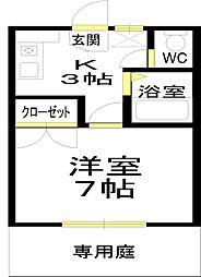 和泉中央駅徒歩圏[105号室]の間取り