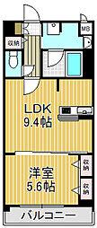 クラヴィーアさくら夙川[2階]の間取り