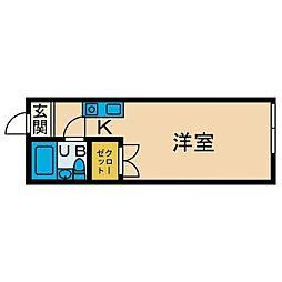 スペース松蓮寺[2階]の間取り