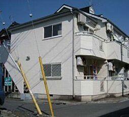 埼玉県川越市大字砂の賃貸アパートの外観
