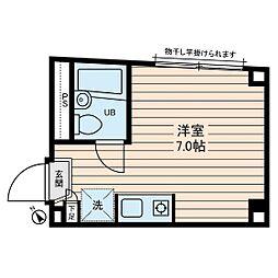 メゾン鶴ヶ島駅前[0202号室]の間取り
