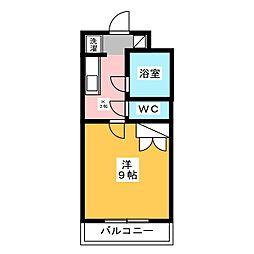 クロシェットI[3階]の間取り