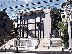 神奈川県川崎市宮前区菅生2丁目の賃貸アパートの外観