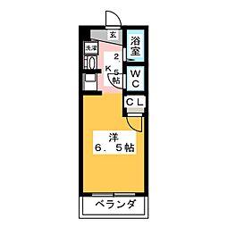 ベレッツァ岐阜[3階]の間取り