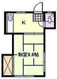 第2日向荘[2階]の間取り