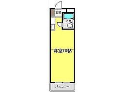 アパートメントザタマ[2階]の間取り