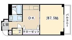 ローレル西宮[301号室]の間取り