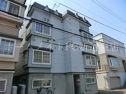 北海道札幌市東区北三十九条東14丁目の賃貸アパートの外観