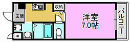カーライル堺市駅前[4階]の間取り