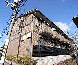 京都府京都市北区上賀茂桜井町の賃貸アパートの外観
