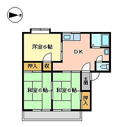 モンレーブ21FS[2階]の間取り
