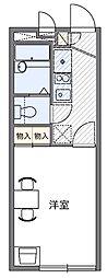 千代田パレス[1階]の間取り