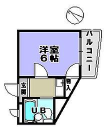 セブンロード[3階]の間取り