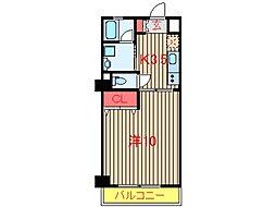 プランドールS・I (0016)[3階]の間取り
