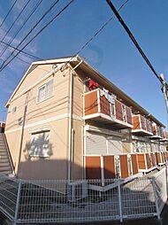 グランディールA棟[2階]の外観