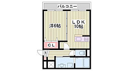 土山駅 3.7万円