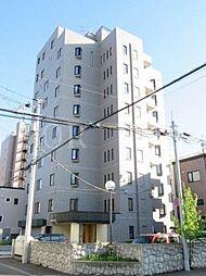 北海道札幌市白石区菊水八条2丁目の賃貸マンションの外観