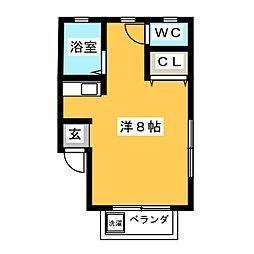 メゾン妙興寺[-1階]の間取り
