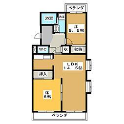 DM41[4階]の間取り
