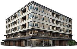 「パークホームズ堺町御門」[4階]の外観