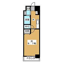 Bo.上七軒[1階]の間取り