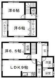 [一戸建] 静岡県浜松市南区三島町 の賃貸【/】の間取り
