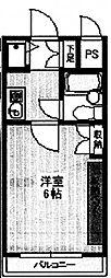 ワコーレ町田[3階]の間取り