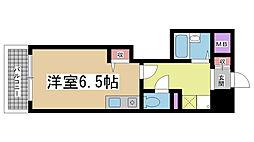 ヒューネット神戸元町通[7階]の間取り
