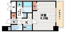 Core本町[11階]の間取り